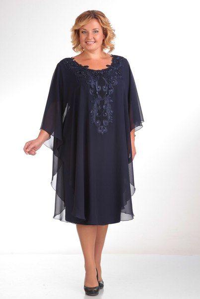 Платья больших размеров 52-64 для полных | Платья больших ...