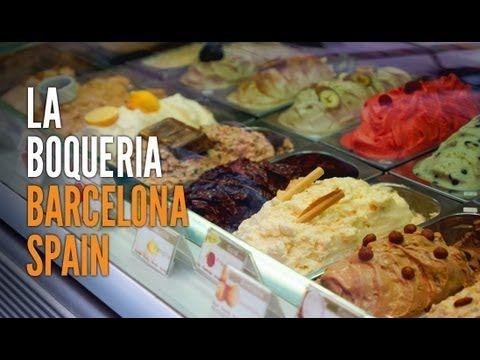 Foodie Heaven 2 - La Boqueria, Barcelona - Chocolate, Sweets & Produce