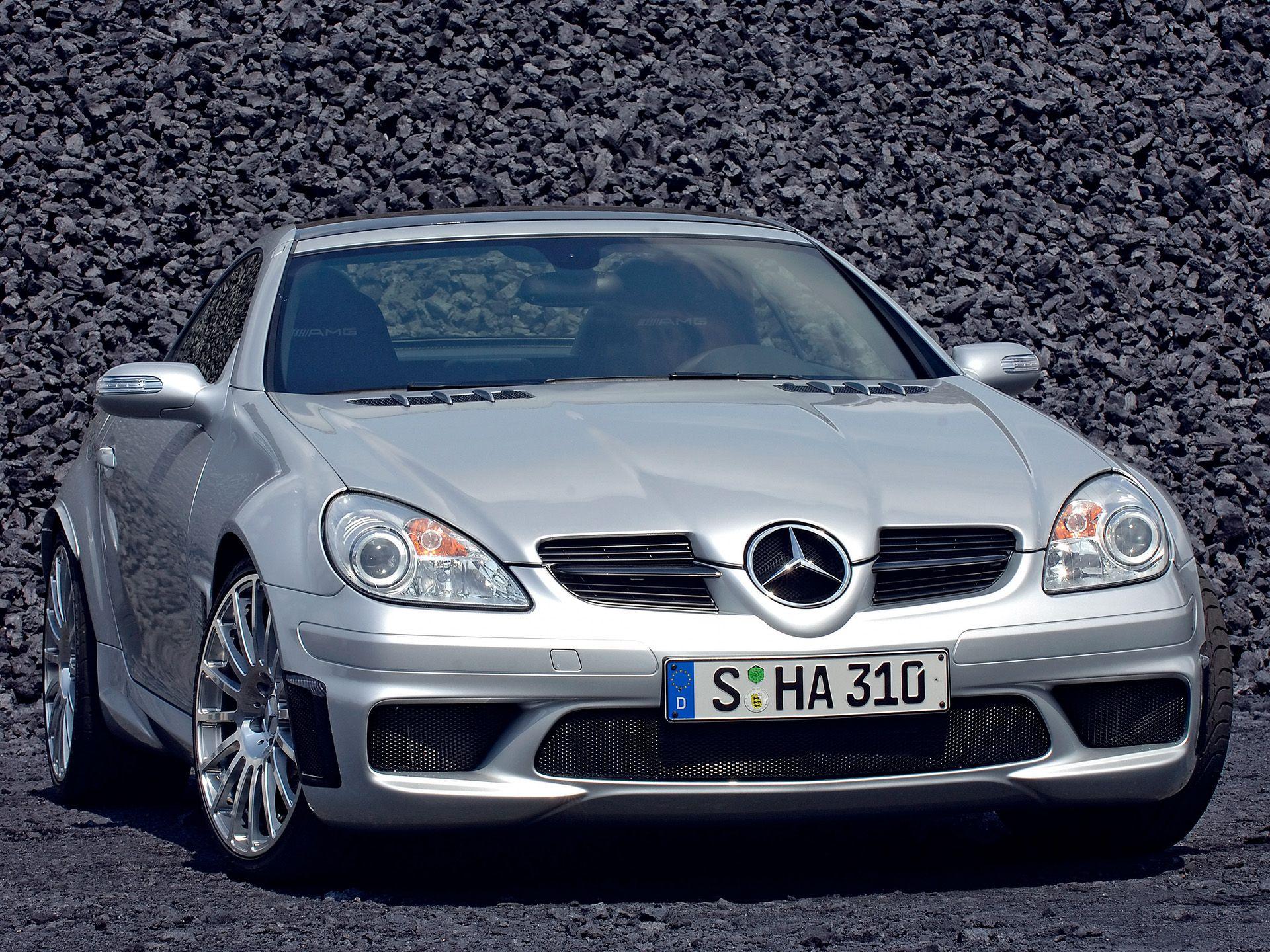2007 Mercedes-Benz SLK 55 AMG Black Series Image