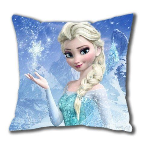 Disney Frozen Elsa Cotton Pillow Case, Zippered #DisneyFrozen