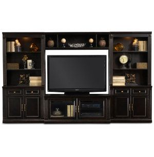 Wall Unit With 56 Console Media Centers Art Van Furniture