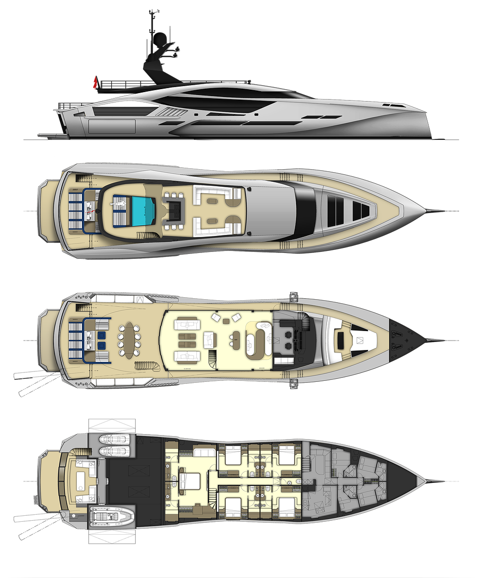 Motor Yacht Diagrams   Wiring    Diagram