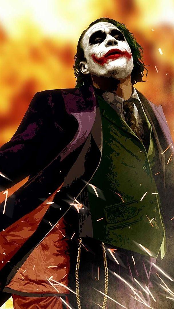 Dark-Knight-Joker-Art-iPhone-Wallpaper - iPhone Wallpapers