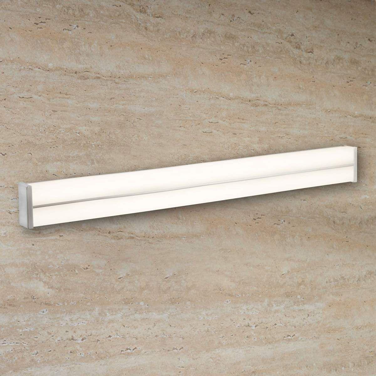 Moderne Wandleuchte Bathroom 1152 Von Searchlight Silber Led Spiegel Mit Beleuchtung Und Spiegel