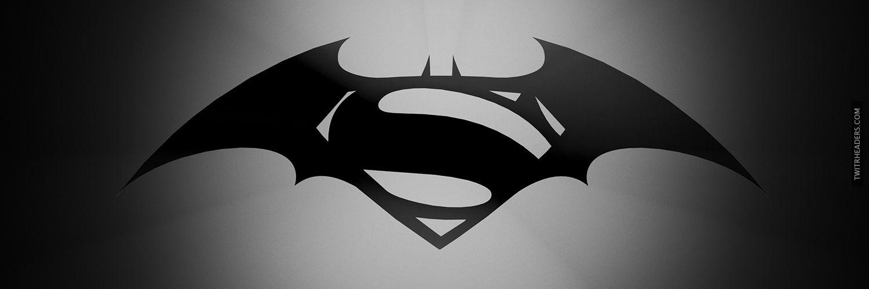 Batman Vs Superman Twitter Header Cover Batman Wallpaper Superman Wallpaper Batman Vs Superman Logo