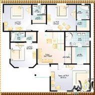 مخططات فلل دورين Model House Plan House Map House Plans