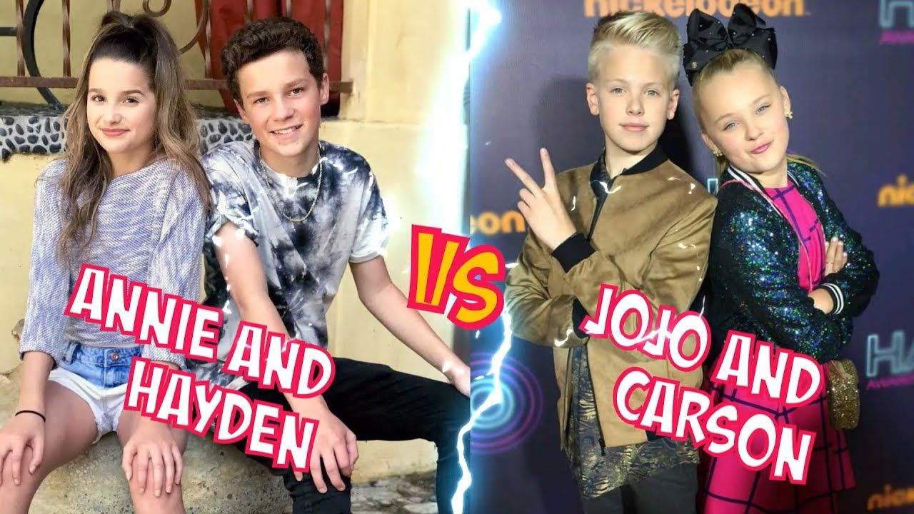 Annie Leblanc And Hayden Vs Jojo Siwa And Carson Lueders L Battle