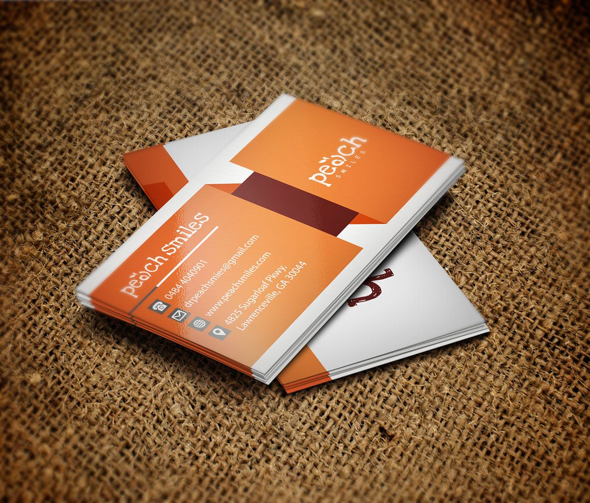 Medical Business Card On Behance Medical Business Card Pinterest