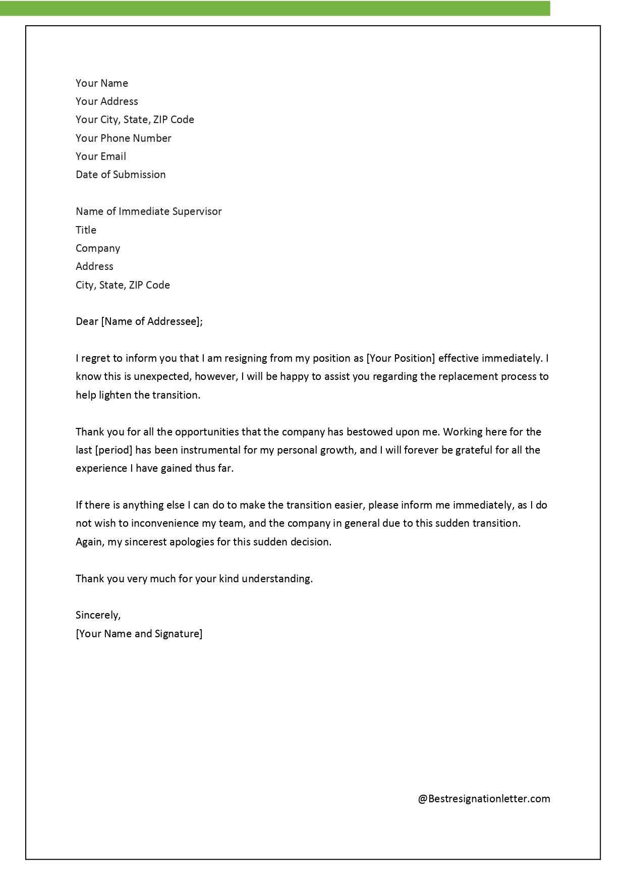 resignation letter template for bpo seven common mistakes f&b manager resume sample templates marketing professionals example objective in fresh graduate