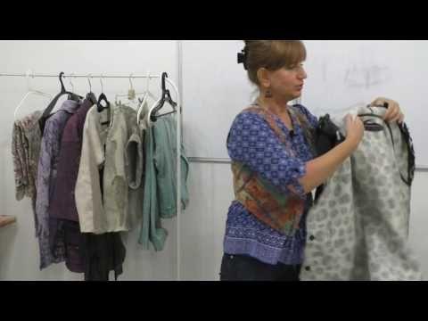 Ирина Садыкова в Шкатулочке 7 июня Одежда из войлока Валяем сами - YouTube