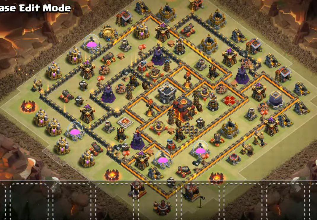 Th10 War Base Coc Th Base Th 10 Terkuat 7