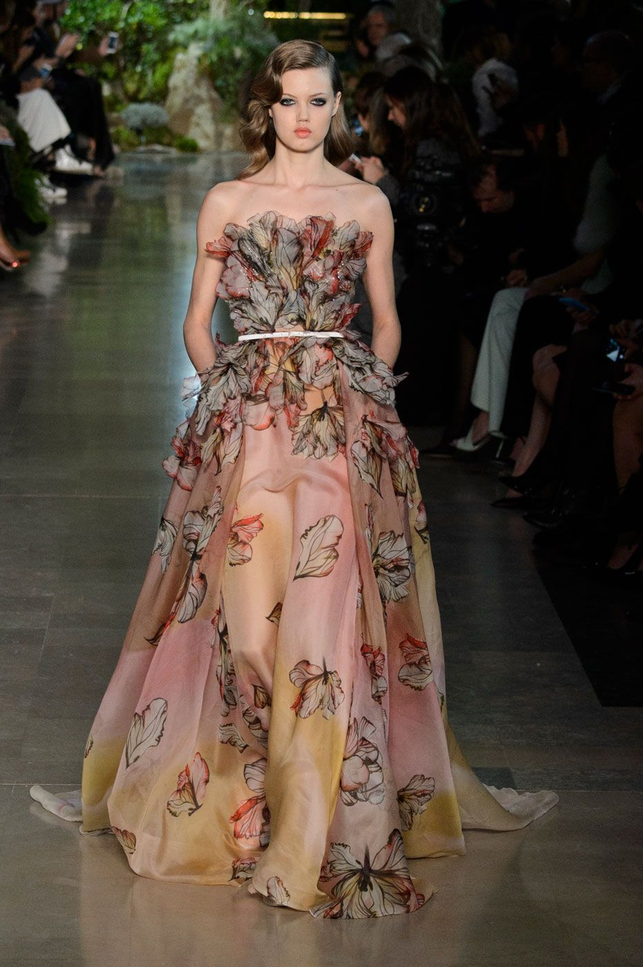 The best gowns of haute couture spring haute couture and elie