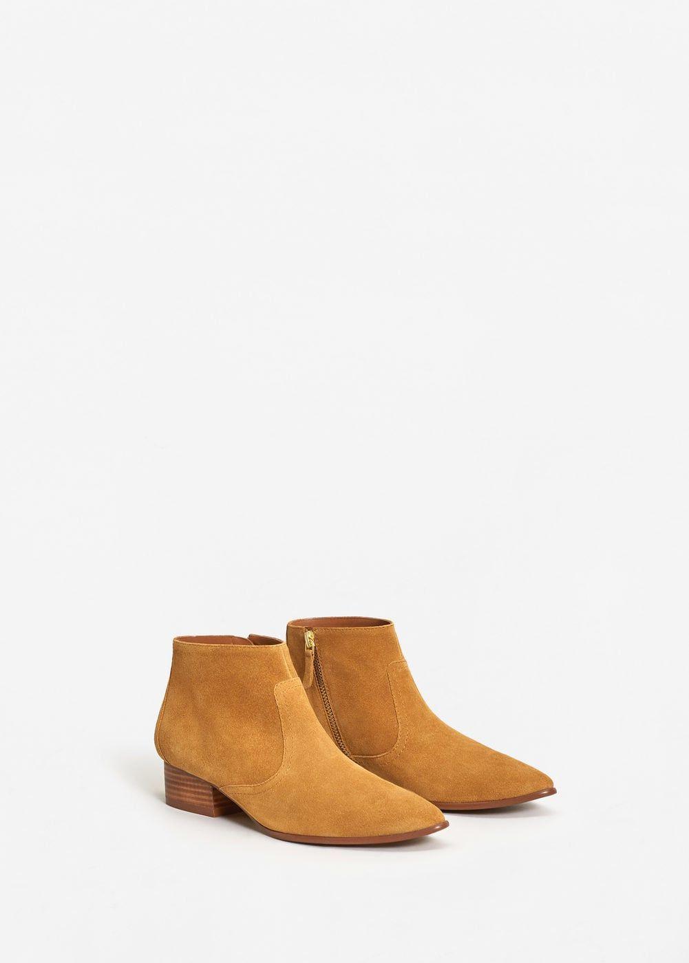 a571af0acfae6 Botín campero piel - Zapatos de Mujer