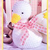 Cuddle Duck Crochet Pattern ePattern
