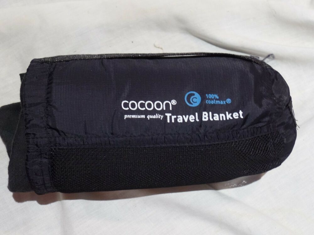 202d9d3ea COCOON COOLMAX TRAVEL BLANKET Clean w Stuff sack - Travel Blankets ...