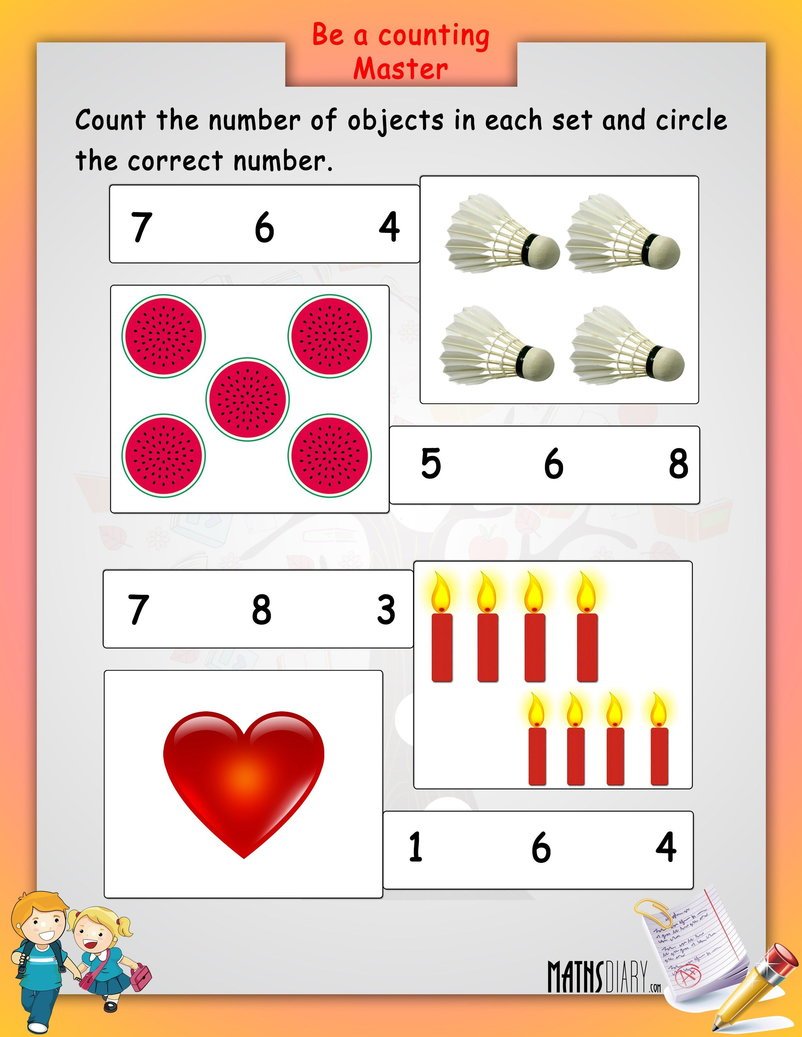 educomp lkg math worksheets - Yahoo Image Search Results | nubers ...