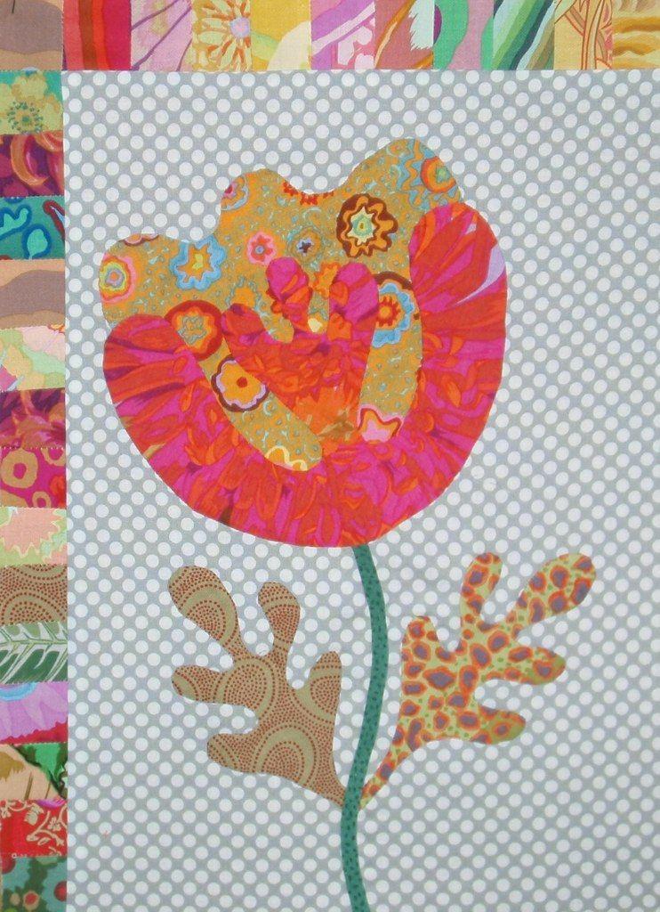 Kim Mc Lean Flower garden | Pinterest | Patchwork