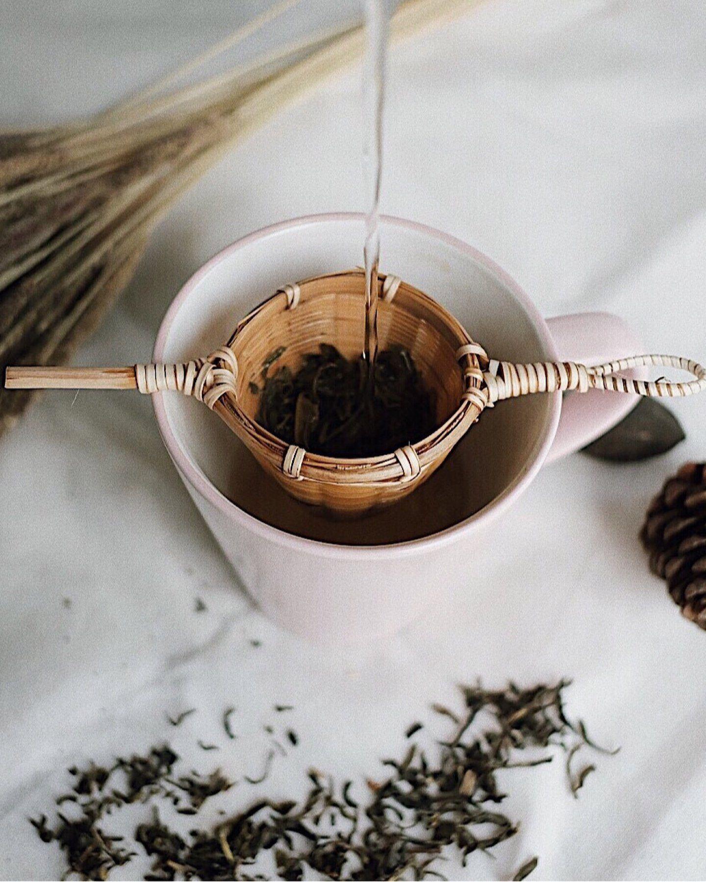 Bamboo Tea Strainer #teapackaging