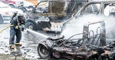 Correio Paulista: Suécia - Carros agora estão sendo incendiados em p...