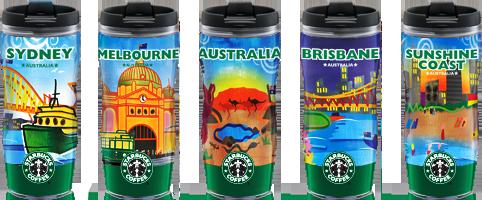 Mugs and Drinkware Starbucks Coffee Company Australia