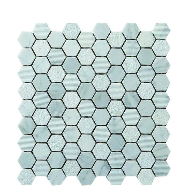 Mosaique Pierre Hexagonal 30x30 Cuma Castorama Hexagonaux Carrelage Castorama