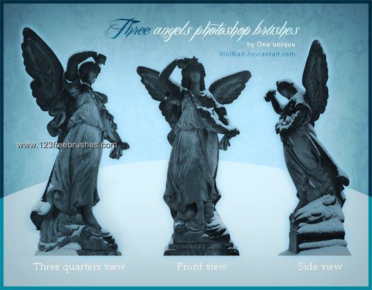 Angel Statue Adobe Photoshop Brushes Download Angel Statues Statue Angel Sculpture