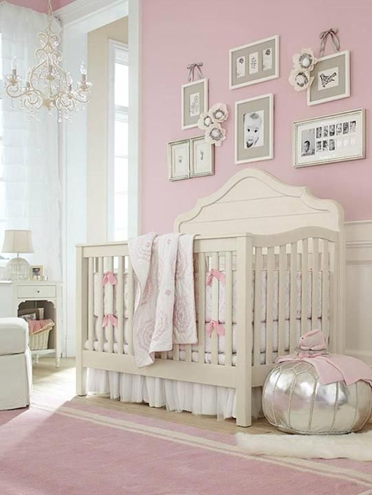 It S A Paint The Nursery Walls With Sherwin Williams Color Reverie Pink Sw 6856