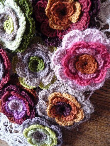 Crochet Flowers | Flickr - Photo Sharing!