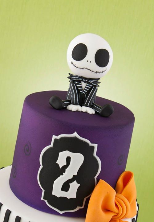 baby Jack Skellington cake i dont care what anyone says this is