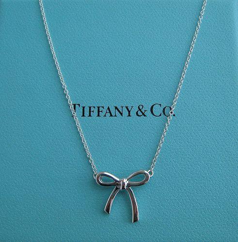 a13f19abd8e2 Tiffany Co. bow necklace  125