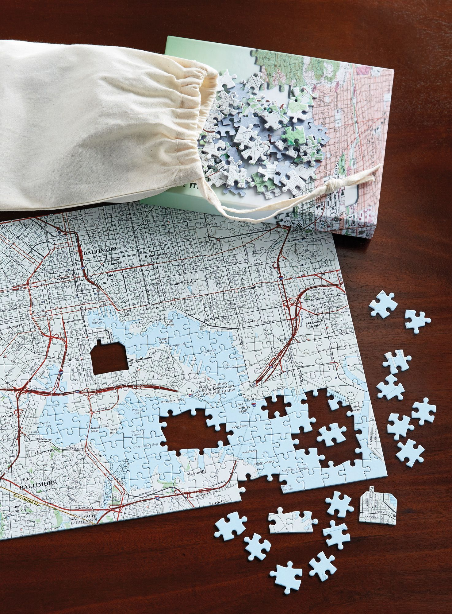 Meaningful Places Personalized Puzzle Whatever paths