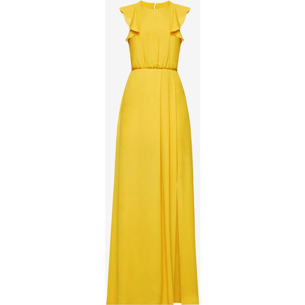 BCBGMAXAZRIA Angelika Ruffled Gown ($298) ❤ liked on Polyvore ...