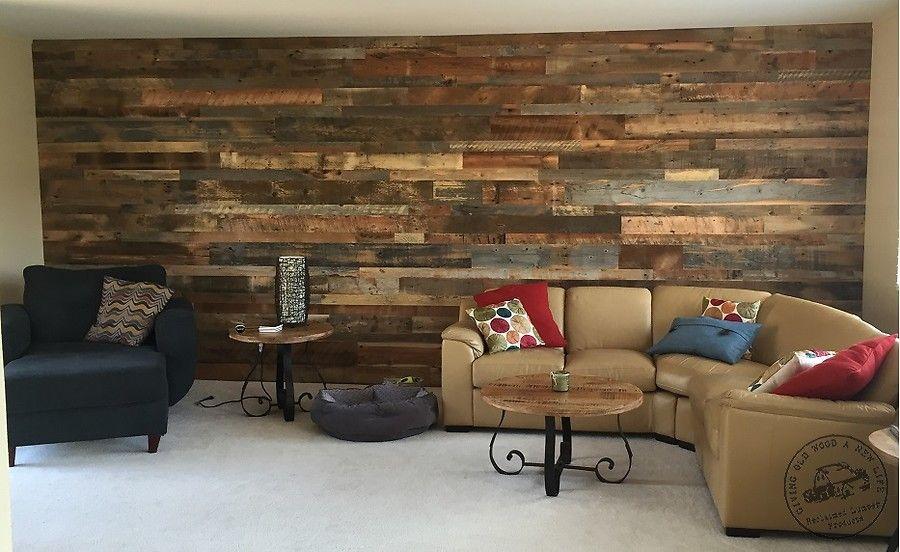 Accent Wall Paneling - Idaho Barn Wood Blend   Reclaimed Lumber Products - Accent Wall Paneling - Idaho Barn Wood Blend Reclaimed Lumber