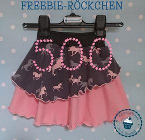 Danke für 500 likes auf fb. Dafür gibt es ein FREEBIE – das Freebie-Röckchen …