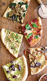 Outdoor pizza turns dinner into a community event.