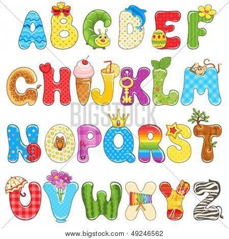 abecedario creativo para imprimir - Buscar con Google | letras ...