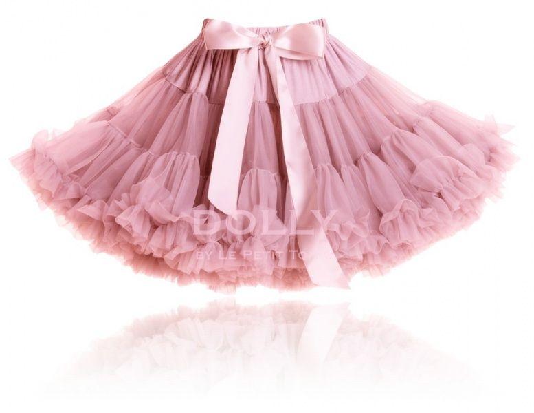 Dolly, Pettiskirt dusty pink str. 1-3 år