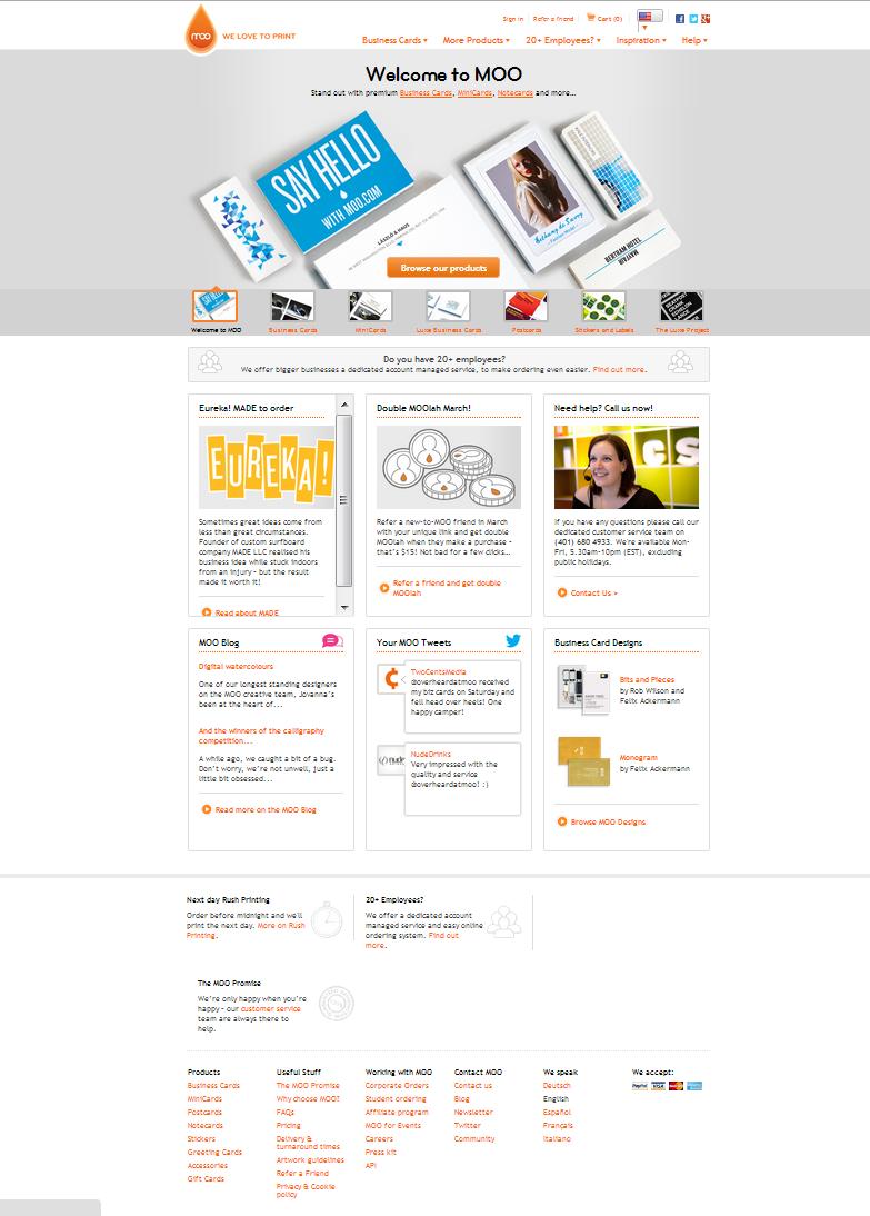 Moo Com Site Web Design Moodboard Print Shop Pinterest