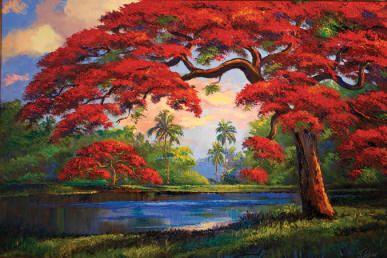 Florida Highwaymen Legendary Landscapes James Gibson