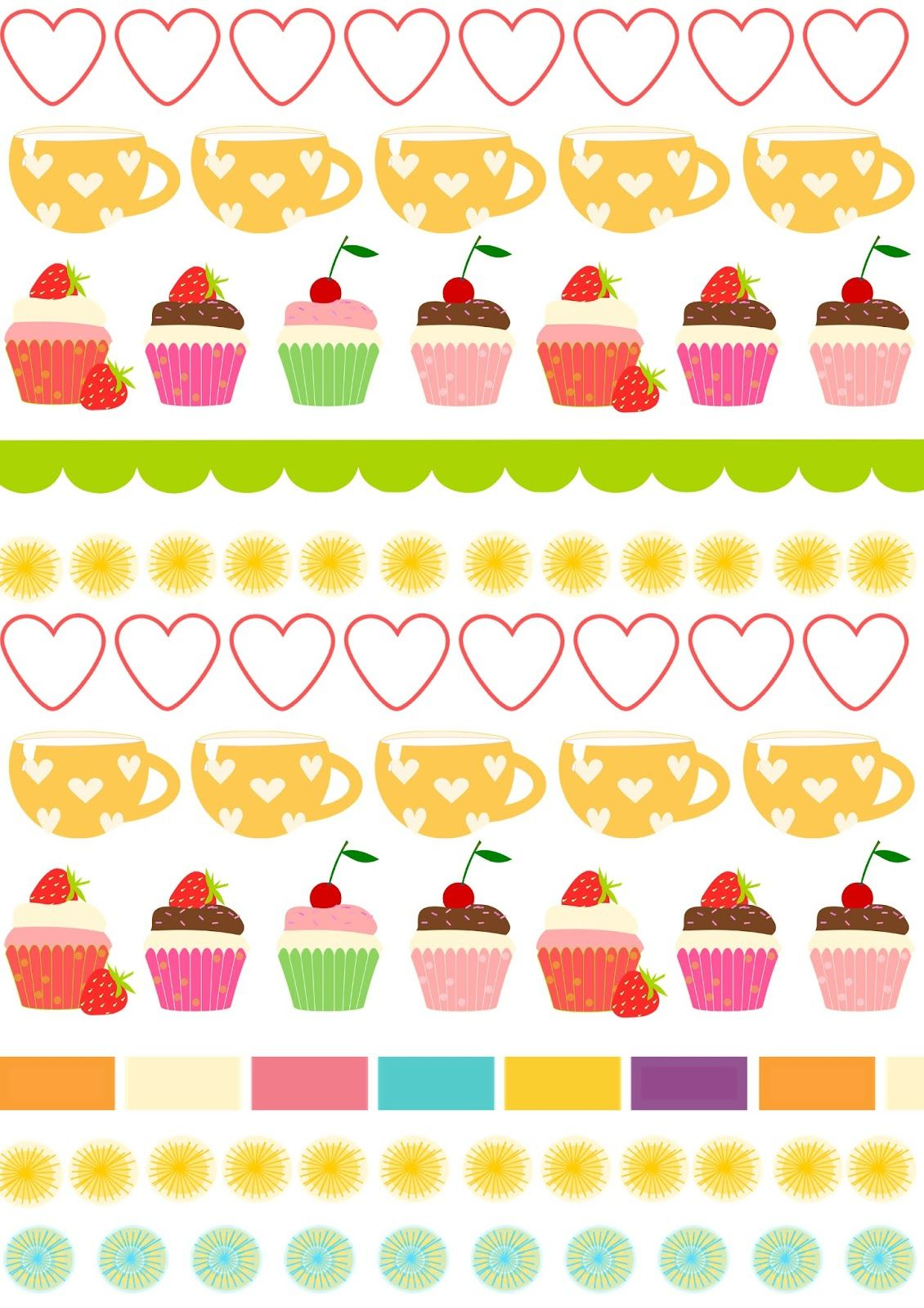 image about Printable Cake Paper titled Totally free electronic border sbooking paper - ausdruckbares