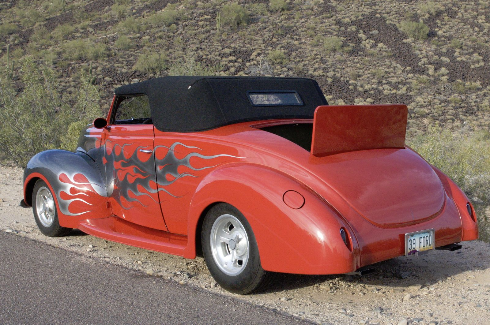 1939 Ford Convertible 1938 1941 Coupes Sedans And Trucks Coupe Red