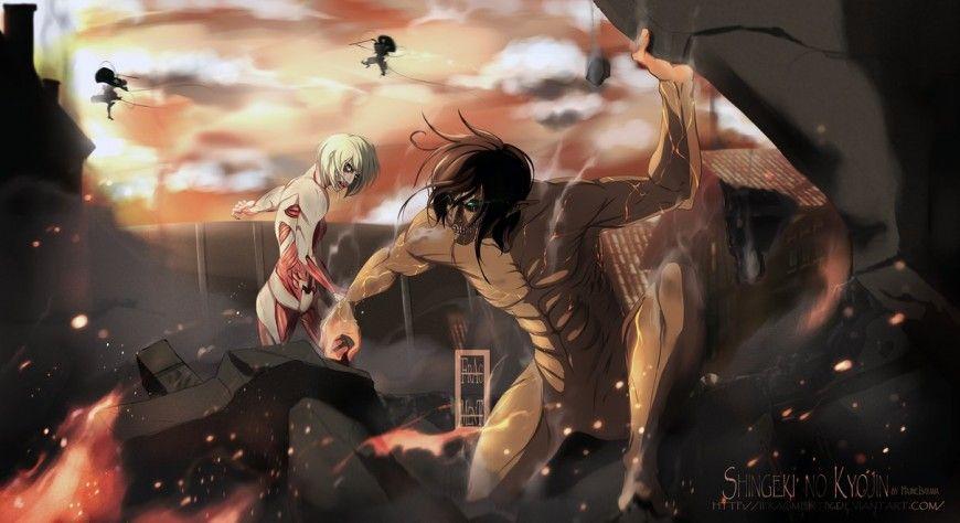 30 Amazing Attack On Titan Fan Artworks
