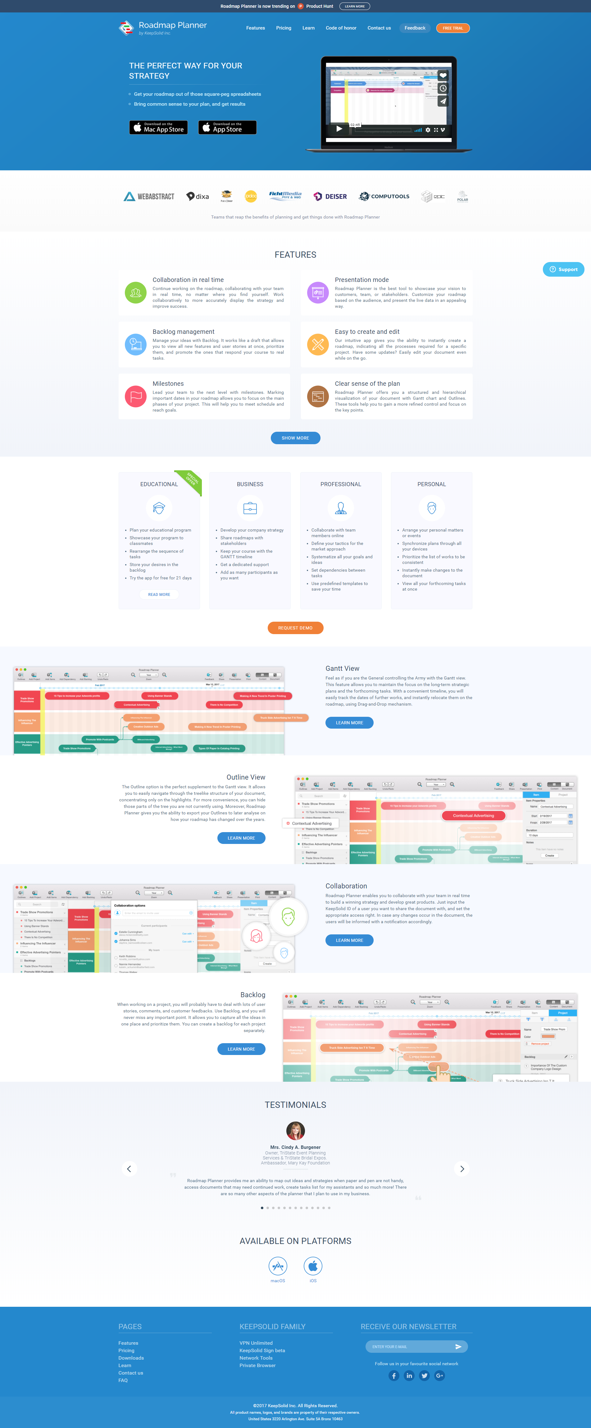 Roadmapplannerio Home Web Design Pinterest - Roadmap planner