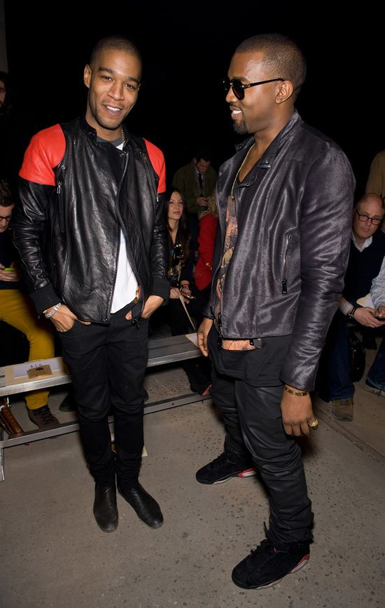 Kid Cudi Surface To Air S2a Leather Jacket Kanye West Kanye West Style Kid Cudi Stylish Celebrities