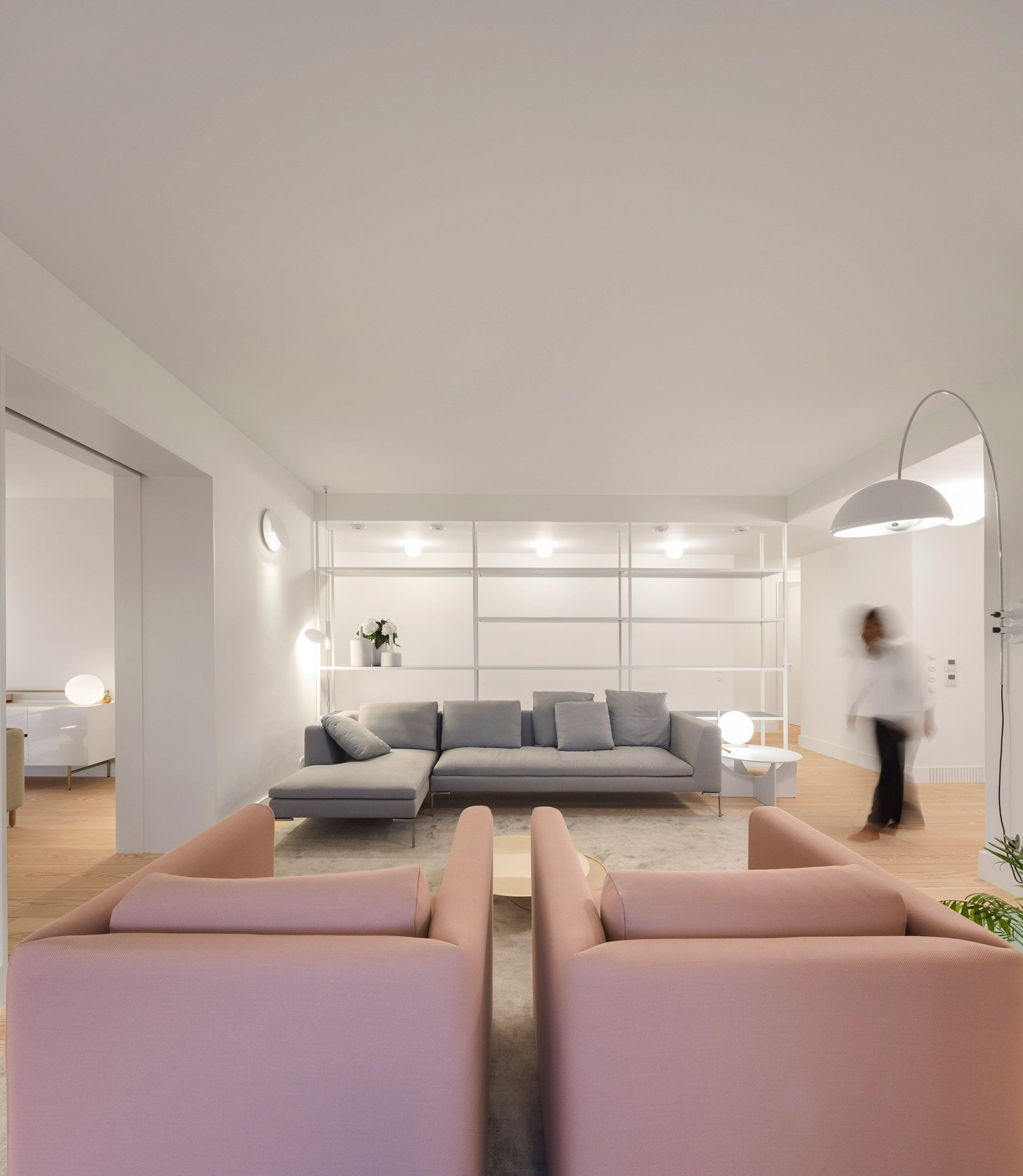 Apartment AMC Is A Minimal Renovation Located In Lisbon, Portugal, Designed  By Rar. Awesome Design
