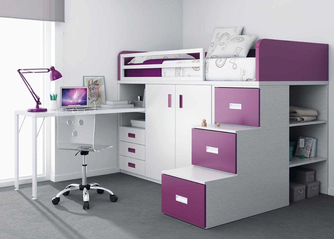 Con esta litera puedes hacer de todo b rn v relser for Crear muebles juveniles