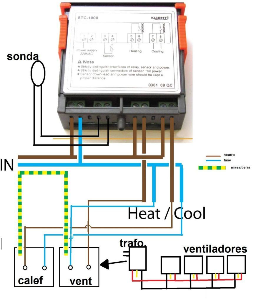 Stc 1000 Temperature Controller Wiring Diagram Copy In