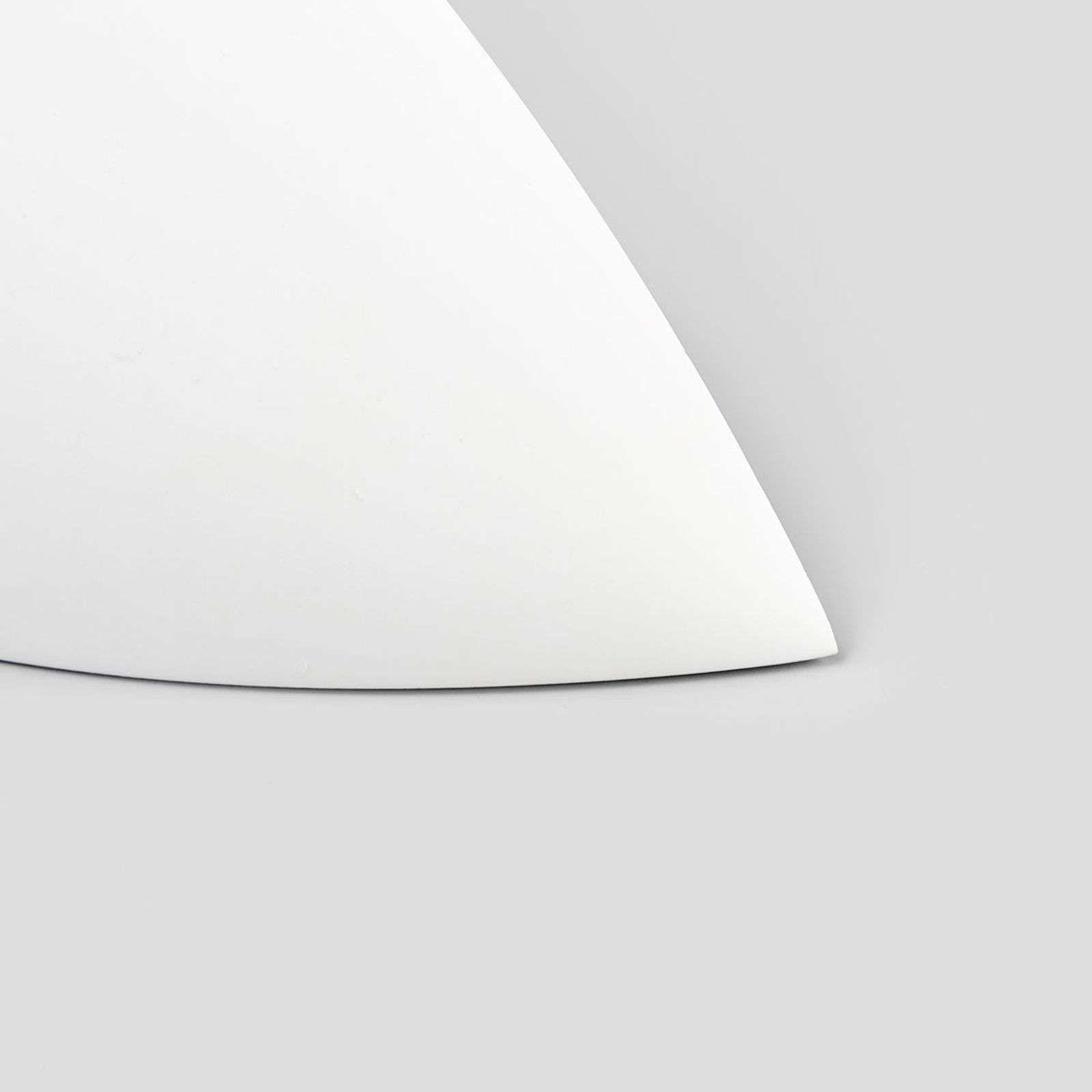 Applique en plâtre en forme de vasque Guilia #gesso