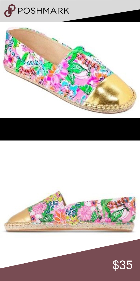 7de293f6b63 Lilly Pulitzer Nosie Posie Espadrille Flats 8.5 Never worn. No box. Lilly  Pulitzer for Target Shoes