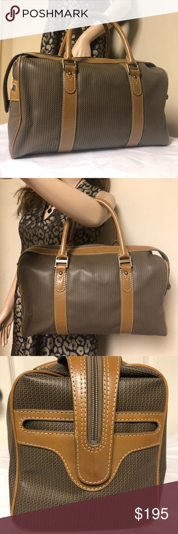 Charles Jourdan Paris Actif Large Vintage Handbag Charles Jourdan Vintage Handbags Handbag